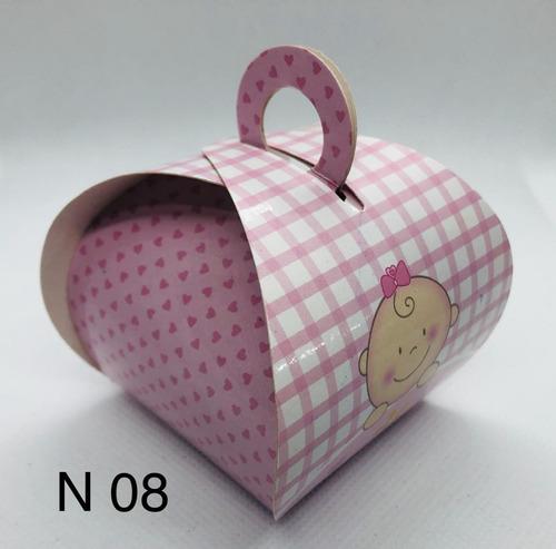 Imagem 1 de 11 de 60 Caixinhas Para Bem Casado Lembrancinha Bebê Baby Menina