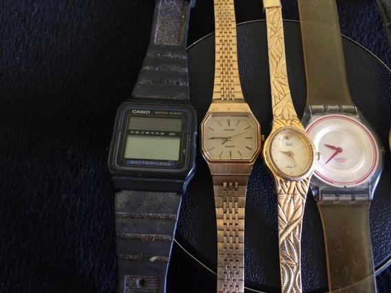 Lote De 6 Relógios De Pulso