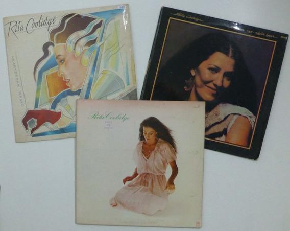 Rita Coolidge Discos De Vinilo Lp X 3 Lote
