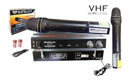Microfonos Karaoke Profesionales Inalambrico Alcance 60mt