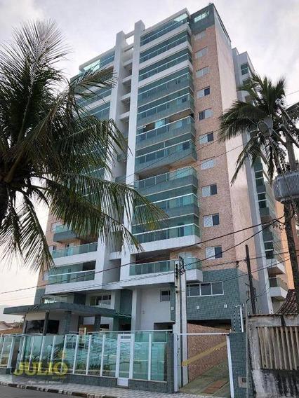 Entrada R$ 51800,00 E Saldo Super Facilitado! Apartamento Com 2 Dormitórios, 72 M² Por R$ 259.000 - Vila São Paulo - Mongaguá/sp - Ap1016