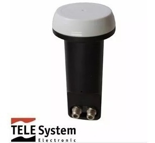 3 Lnb Duplo ( 2 Saidas) Telesystem Tst W12-1 Hd Ku Universal