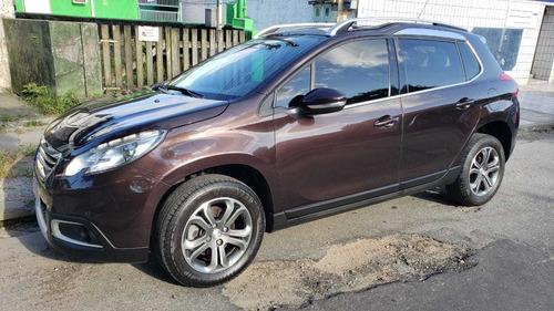 Peugeot 2008 Griffe 1.6 Flex 16v 5p Mec. Marrom Ano 2017