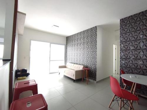 Apartamento Com 2 Dormitórios Para Alugar, 80 M² Por R$ 4.800,00/mês - Gonzaga - Santos/sp - Ap1681
