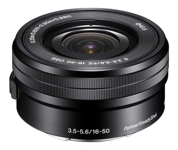 Lente Sony Sel 16-50mm F/3.5-5.6 Oss A6500 A6300 A6000 A5000
