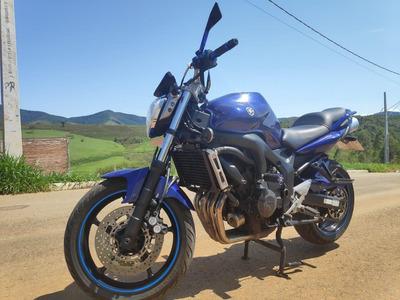 Moto Yamaha Fazer 600 Cc Naked Papa Hornet Fz 6 Azul