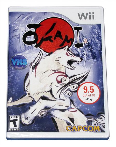Okami - Nintendo Wii - Americano - Mídia Física - Lacrado