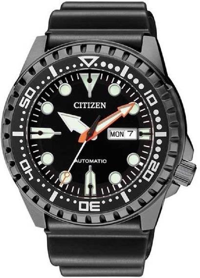 Relógio Citizen Masculino Automático Marine Sport Nh8383-17e / Tz31123unh8385-11e / Tz31123p