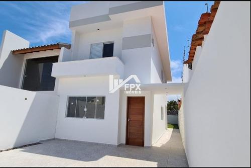 Imagem 1 de 14 de Casa Em Itanhaém, Lado Praia Á 750 Metros Do Mar Ca335-f