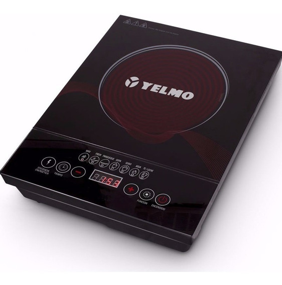 Anafe Electrico Vitroceramico 1 Hornalla Yelmo An9901 Tactil