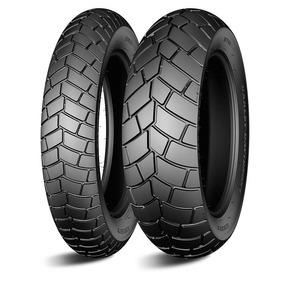 Par Pneu Moto Fat Bob Michelin Scorcher32 130/90-16+180/70-1
