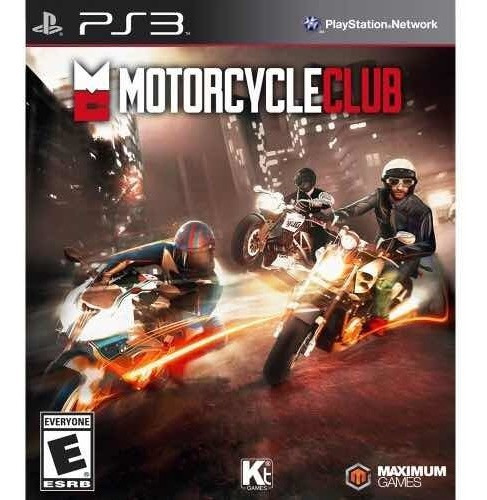 Motorcycle Club Ps3 Novo Lacrado Alemão Games
