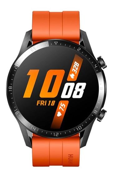 Reloj Smartwatch Huawei Watch Gt 2 46mm Naranja Atardecer