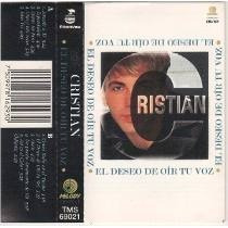 Cassettes Cristian Castro (el Deseo De Oir Tu Voz)