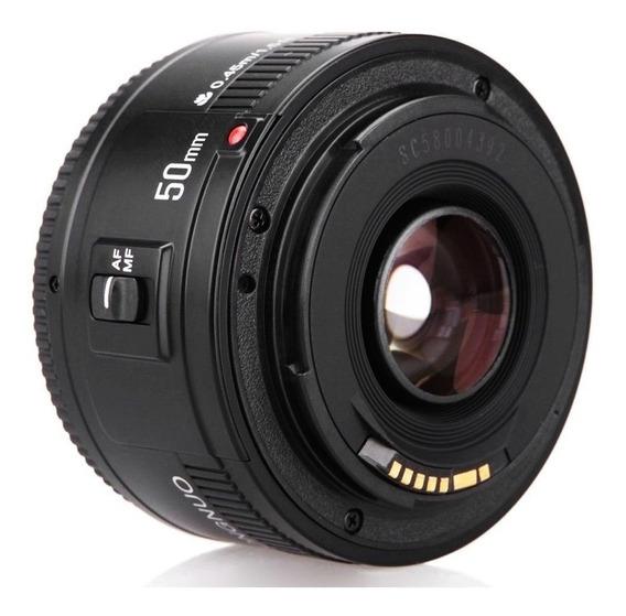 Lente Yongnuo 50mm - 1.8 Canon