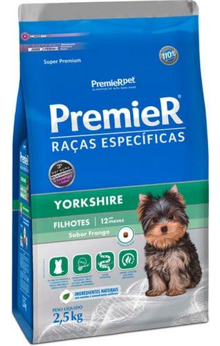 Premier Pet Raças Específicas Yorkshire Filhotes 2,5kg