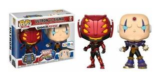 Funko Pop Marvel Vs Capcom - Ultron Vs Sigma - Toys R Us