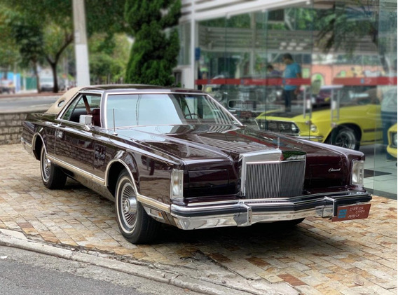 Lincoln Continental Mark V 1978 Bill Blass