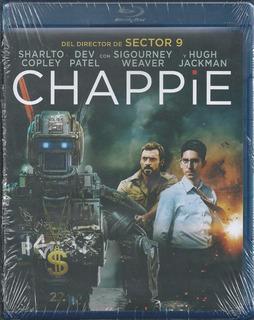 Chappie Blu-ray Masterizada En 4k Nacional