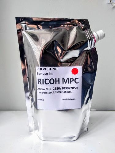 Toner Ricoh Color Mpc 2550/2030/2050/2051 + Chip+envio
