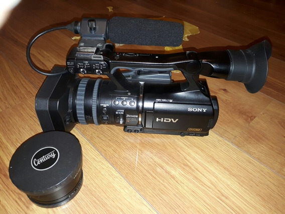 Filmadora Sony Hvr V1u Hdv+lente Schneider