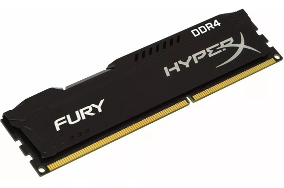 Memoria Ram Pc Kingston Hyperx Fury 8gb Ddr4 2400mhz