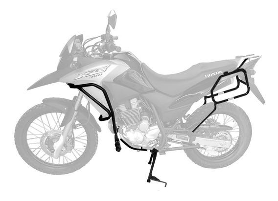Kit Honda Xre300 2010+ Prot.motor Cavalete Sup.lateral Scam