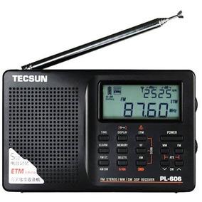 Radio Tecsun Pl-606 Am Fm Ondas Curtas ( Sony Degen )