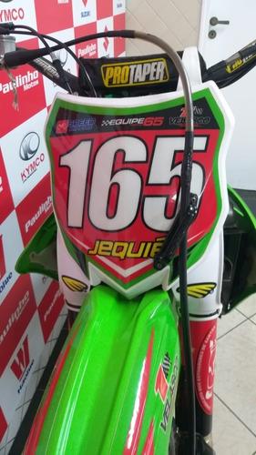 Imagem 1 de 8 de Motocicleta Kawasaki Kx450 F Verde 2013