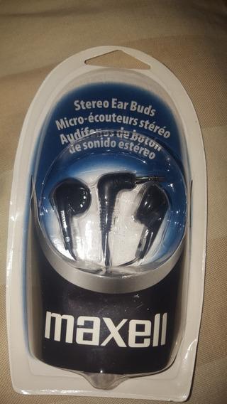 Audifonos De Sonido Stereo Maxell Negros
