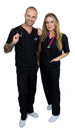 Pijama Cirúrgico Conjunto Hospitalar-unissex-scrub-premium