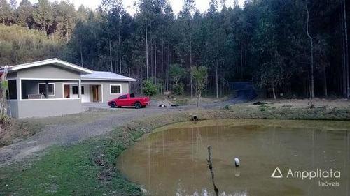 Chácara Com 3 Dormitórios À Venda, 31986 M² Por R$ 390.000,00 - Paiol De Baixo - Campina Grande Do Sul/pr - Ch0009