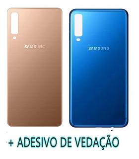 Tampa Traseira De Vidro Samsung A750 A7 2018 Original