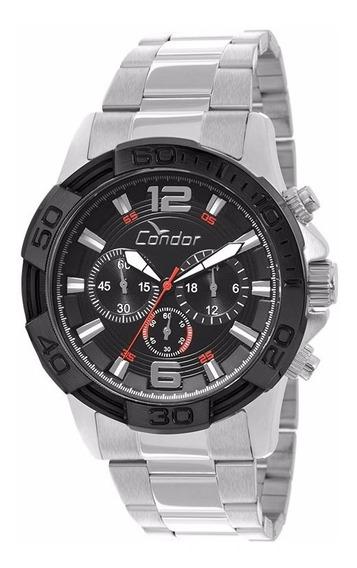Relógio Condor Masculino Cronógrafo Covd54ab/3p Aço Oferta