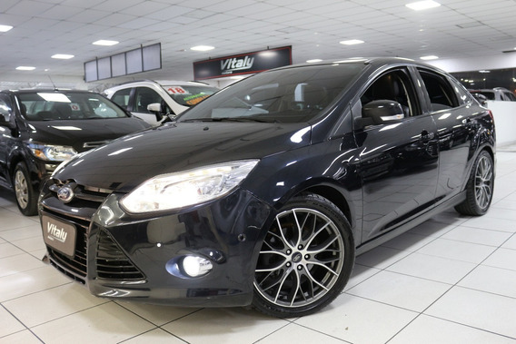 Ford Focus Sedan Titanium Plus Aut!!! Top!!! Teto!!!