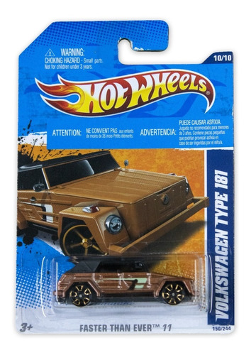 Hot Wheels Faster Than Ever Volkswagen Type 181 2011 V5211