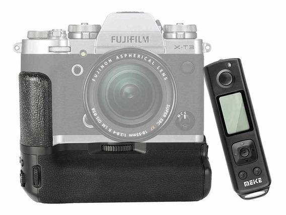 Baterry Grip Meike Mk-xt3 Pro Para Fujifilm X-t3 Mirrorless