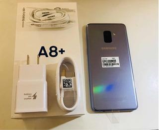 Samsung A8 Plus New En Caja Libre Cybermonady