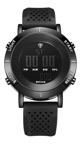 Relógio Masculino Original Esportivo Digital Preto Pulseiras