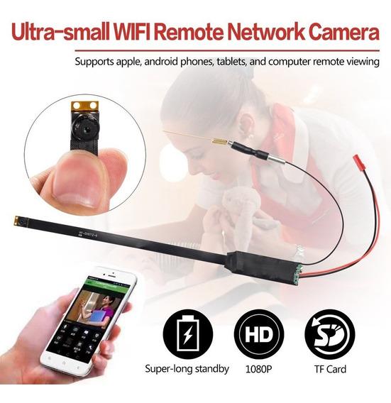 Diy Mini P2p Câmera Escondida Para Telefone