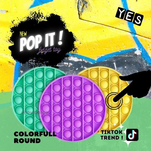 Pop It Fidget Toy Multi