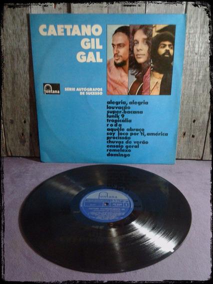 Caetano / Gil / Gal - Brasil - Vinilo / Lp