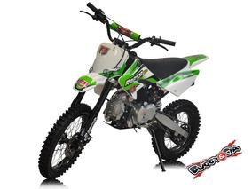 Moto Cross 125cc Partida Eletrica Com Farol Nova 0km