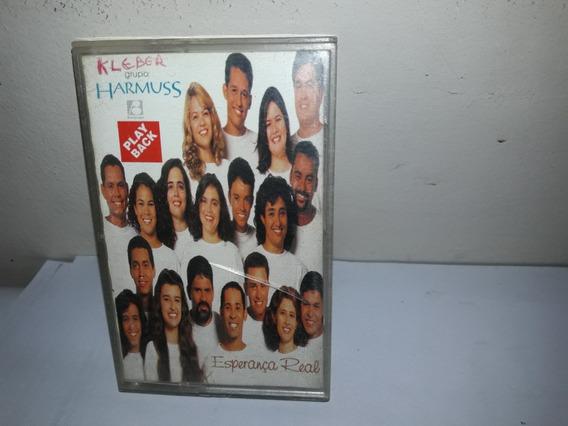 Fita K7 Grupo Harmus Esperança Real Play Back