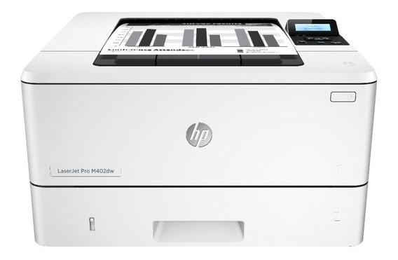 Impresora Laser Hp M402dw Inalámbrica Blanco Y Negro