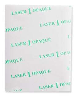 Transfer Láser One Opaque Camisetas Oscuras X10 Hjs Carta