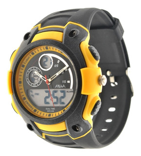 Reloj Hombre Sumergible 5atm Aiwa Digital Analógico Sport