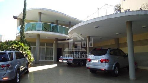 Imagem 1 de 30 de Casa Com 3 Dormitórios, 371 M² - Venda Por R$ 1.600.000,00 Ou Aluguel Por R$ 3.800,00/mês - Ribeirânia - Ribeirão Preto/sp - Ca1174