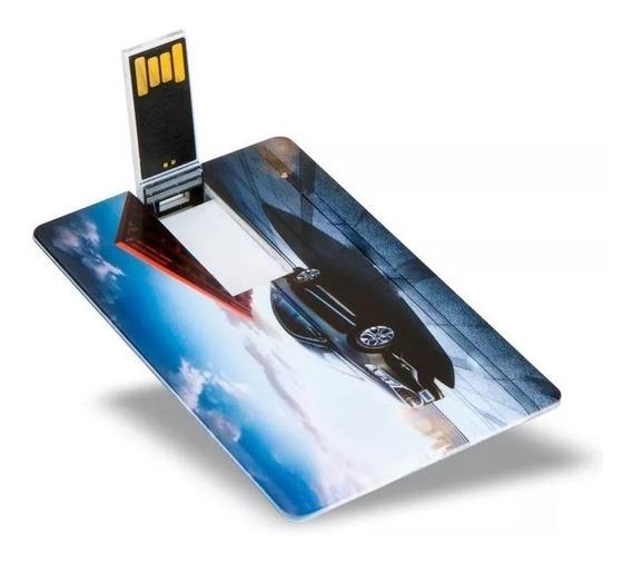 100 Un Pen Drive Cartão ( Pen Card ) 8gb, Personalizado