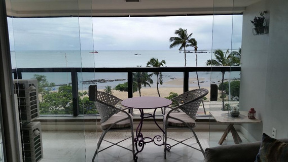 Maravilhoso Flat Na Beira Mar À Venda, 43 M² Por R$ 500.000 - Meireles - Fortaleza/ce - Fl0045